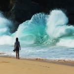 Волны на пляже Плае Гранде, Доминикана