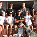 Инструктора и Ученики серф школы