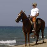 Денис Симачев на пляже El Canal