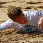 Тренеровка на берегу